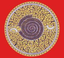 Eyes-Mandala by Kseniya Beliaeva