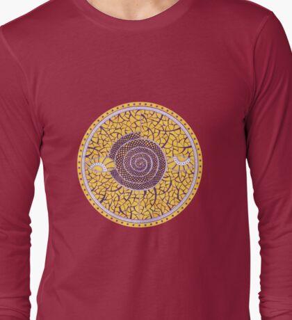 Eyes-Mandala Long Sleeve T-Shirt
