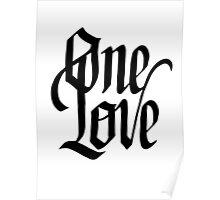 1 Love Poster
