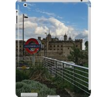 London Underground and the Tower of London iPad Case/Skin
