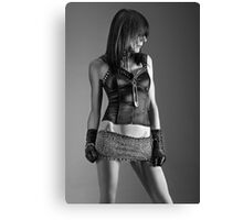 Mini skirt Canvas Print