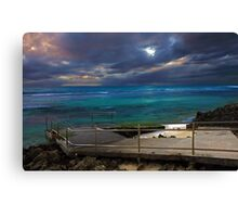 Mettams Pool Beach Ramp  Canvas Print