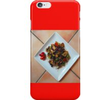 Stir-fry over rice iPhone Case/Skin