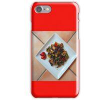 Stir-fry over rice iPhone Case/Skin