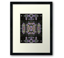 Meeting in the Middle 11 Framed Print