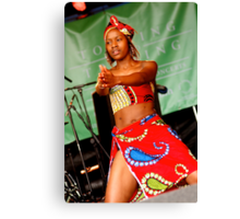 African dancer Canvas Print