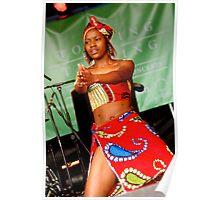 African dancer Poster