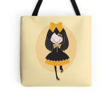 Yellow Girl Tote Bag