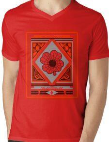 Patterns Mens V-Neck T-Shirt