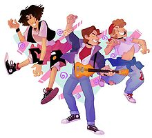 Bill n Ted and Marty! by siins
