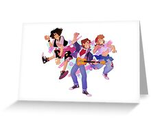 Bill n Ted and Marty! Greeting Card