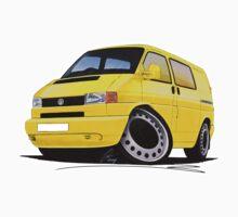 VW T4 Kombi Yellow by Richard Yeomans