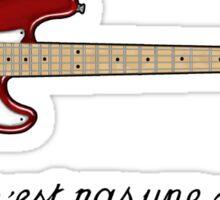 Ceci n´est pas une guitare Sticker