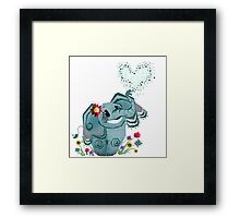 Blair the Elephant Framed Print