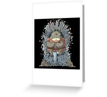 totoro thrones Greeting Card