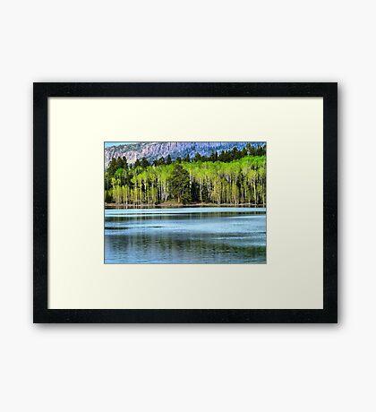 Yankee Lake 1 Framed Print