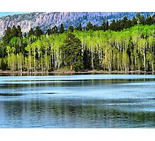 Yankee Lake 1 Photographic Print