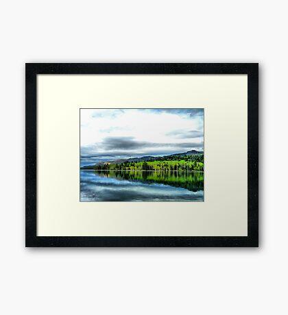 Yankee Lake 0 Framed Print
