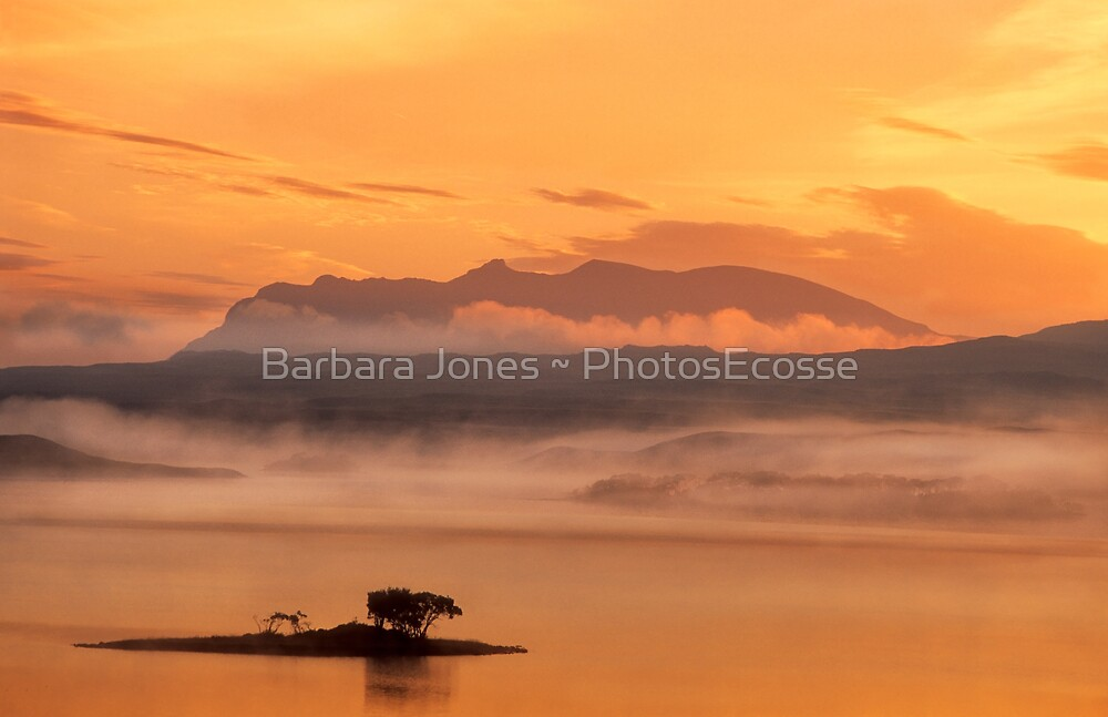 Ben Loyal Sunrise, Flow Country, Northern Scotland. by photosecosse /barbara jones