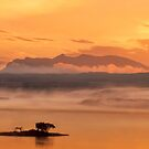 Ben Loyal Sunrise, Flow Country, Northern Scotland. by PhotosEcosse