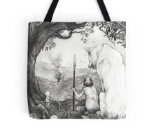 Between the roots and the branches Tote Bag