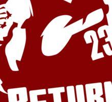 Return of the King Sticker