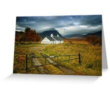 Buachaille Etive Mhor, Scotland Greeting Card