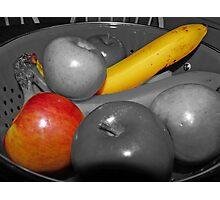 Bowel of Fruit Photographic Print