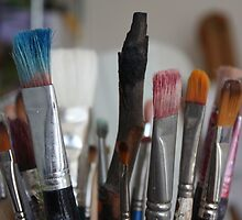Paint Brushes by Fiona Wright