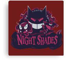 night shades gengar Canvas Print