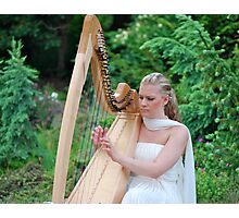 Angelic Music in the Garden... Photographic Print