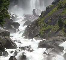 Vernal Falls Panorama by Shaina Lunde