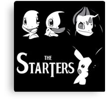 the starters 2 Canvas Print