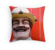 Gilbert the butcher Throw Pillow