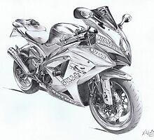 Suzuki GSX R1000 Moto GP Replica by kwin