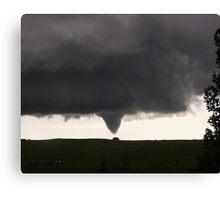 Elbert CO tornado 6.16.09 Canvas Print