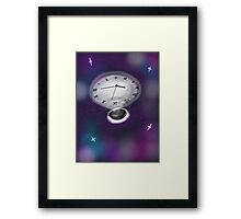 Lost In Time and Space Framed Print