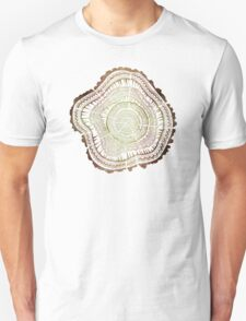 Tree Rings – Watercolor Unisex T-Shirt
