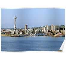 The Space Needle, Downtown Seattle Poster