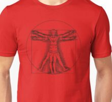 Vitruvian Nurse Unisex T-Shirt