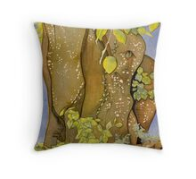 The Old Beech Throw Pillow