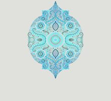 Through Ocean & Sky - turquoise & blue Moroccan pattern T-Shirt