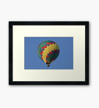 Up & Up Framed Print
