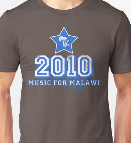 Old School Retro 2010 Blue Unisex T-Shirt