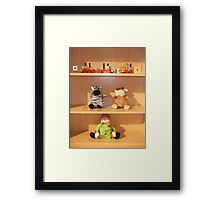 Toys child Framed Print
