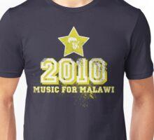 Old School Retro 2010 Yellow Unisex T-Shirt