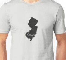 Love New Jersey Unisex T-Shirt