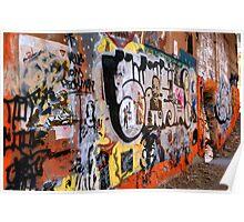 Urban Art Gallery Poster