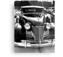 Cadillac Black Metal Print