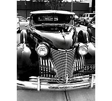 Cadillac Black Photographic Print